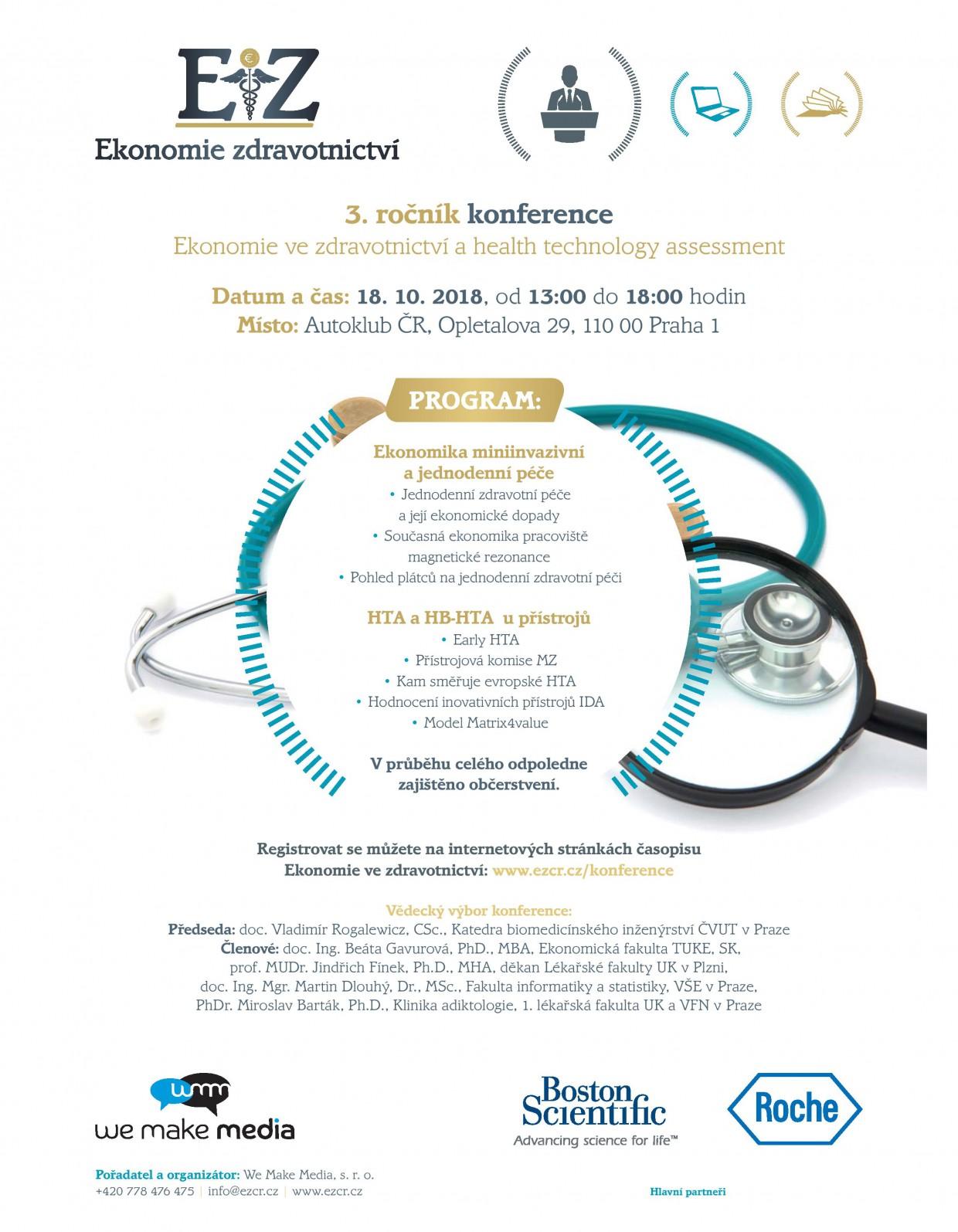 Ekonomie zdravotnictví - konference